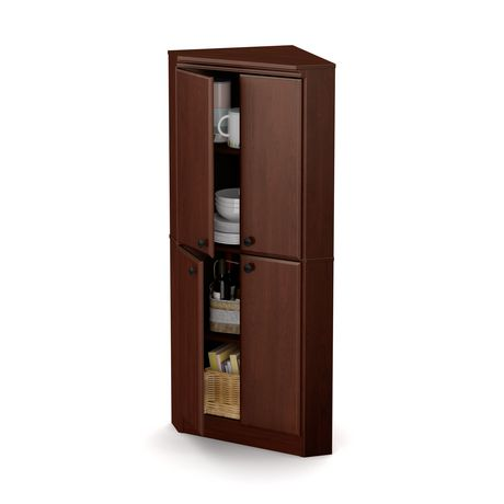 armoire de coin morgan de south shore 4 portes. Black Bedroom Furniture Sets. Home Design Ideas