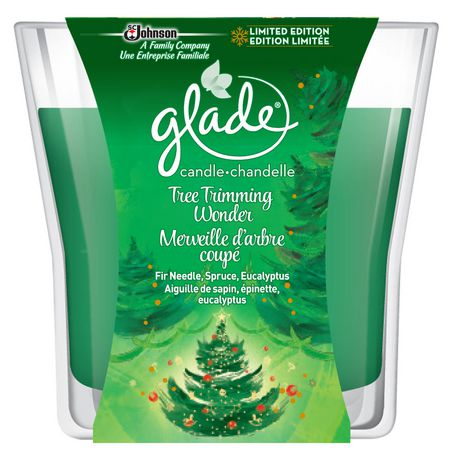 Glade Holiday Tree Trimming Wonder Candle | Walmart Canada