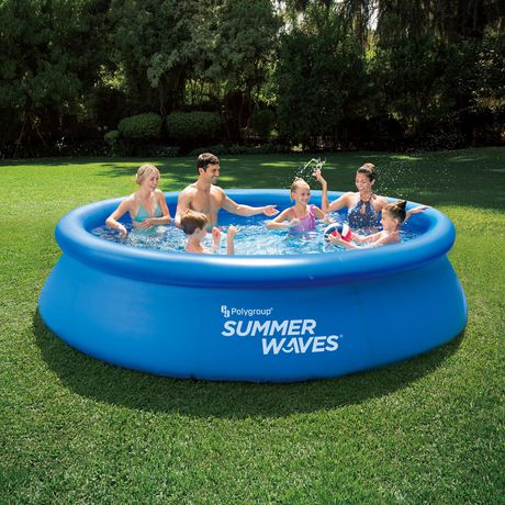 SUMMER WAVES 12FT QUICK SET® POOL - image 1 of 5