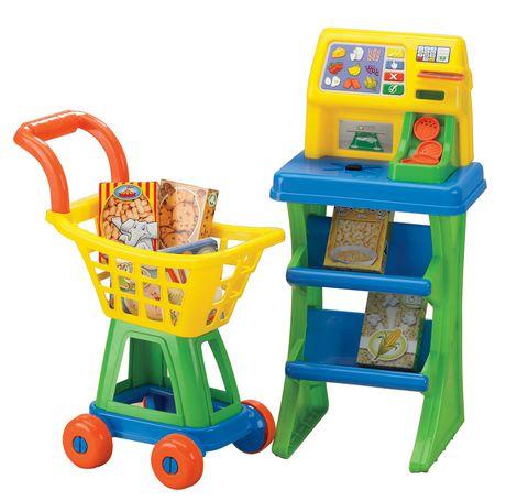 Mon Petit marché American Plastic Toys Self-Chechout Set - image 1 of 1