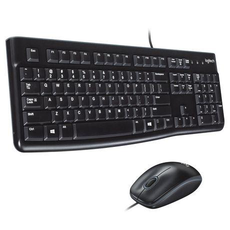 7dcb3b2d1d8 Logitech MK120 Desktop Keyboard and Mouse - image 1 of 1 ...