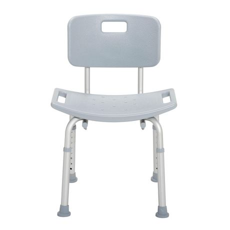 Drive Medical Gray Bathroom Safety Shower Tub Bench Chair