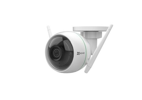 EZVIZ C3WN 1080p Outdoor Wi-Fi Bullet Camera with Google Assistant Compatibility - image 8 of 9