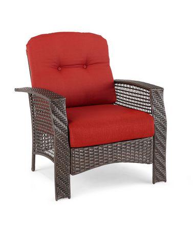 Chaise lounge en osier tuscany de hometrends - Chaise en osier ...