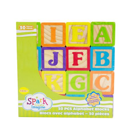 Blocs avec alphabet Spark Create Imagine - image 2 de 5