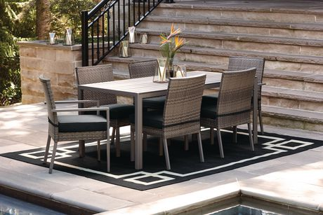 Hometrends Borwick 7 Piece Dining Set