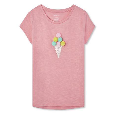 T-shirt embelli George pour filles - image 1 de 2