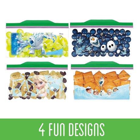 Ziploc 174 Snack Bags 169 Disney Frozen Walmart Canada