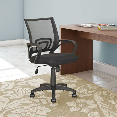 Corliving Lof 309 O Office Chair In Black Walmart Canada