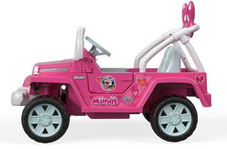 6a4fafcb3ec52 Power Wheels Jeep Wrangler Featuring Disney Minnie Happy Helpers Ride-On -  image 6 of ...
