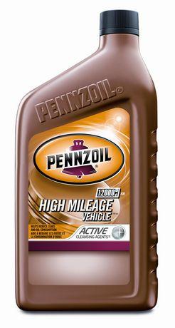 Pennzoil High Mileage Vehicle 5W-30 946ML | Walmart Canada