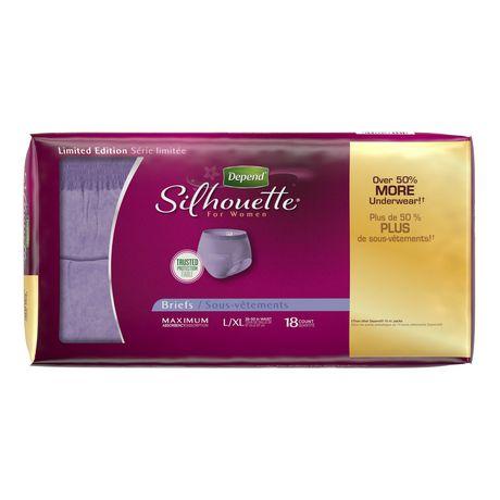 Culottes d'incontinence Depend Silhouette pour femmes, absorption maximale - image 3 de 4