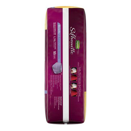 Culottes d'incontinence Depend Silhouette pour femmes, absorption maximale - image 4 de 4