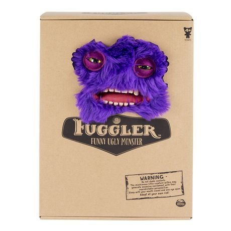 """Fugglers Fuggler – Funny Ugly Monster, 12"""" Claw-ey (purple) Deluxe Plush Creature with Teeth, for Ages 4 And up - image 2 of 4"""