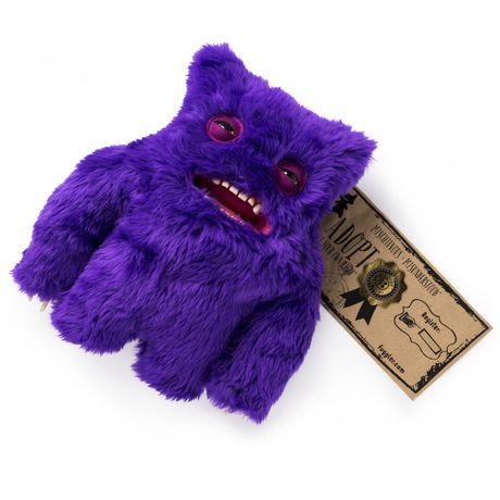 """Fugglers Fuggler – Funny Ugly Monster, 12"""" Claw-ey (purple) Deluxe Plush Creature with Teeth, for Ages 4 And up - image 4 of 4"""