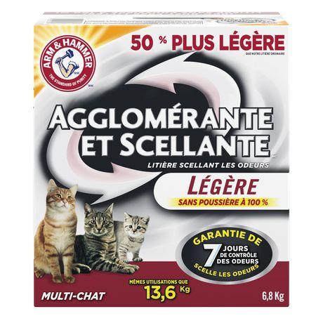 Litière Agglomérante et Scellante d'ARM & HAMMER Multi-Chat légère pour chats - image 2 de 2