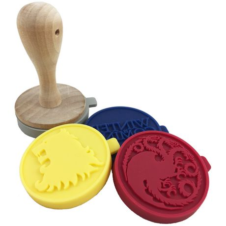 Game of Thrones Silicone Cookie Stamps - image 2 of 2