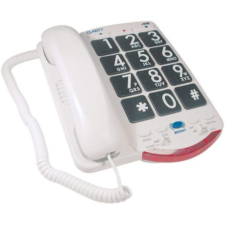 Clarity JV35 Amplified Telephone with Talk Back Numbers - image 1 of 1