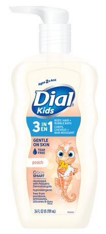 Nettoyant pour le corps+cheveux Dial pour enfants Peau de Pêche - image 1 de 3