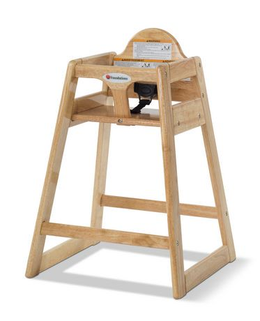 texaschairdarksingle high chair wooden texas
