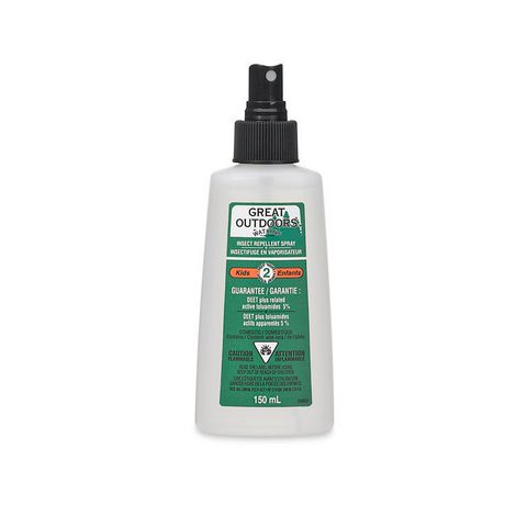 Great Outdoors Insect Repellent Spray 5 Deet Kids