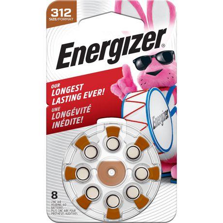 Energizer EZ Turn & Lock Format 312, Emballage de 8, Brun - image 1 de 9