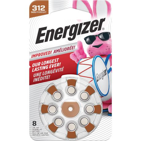 Energizer EZ Turn & Lock Format 312, Emballage de 8, Brun - image 7 de 9