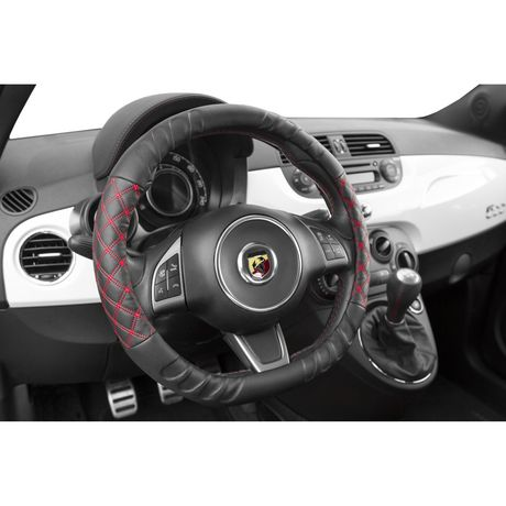 Alpena Red Corsa Steering Wheel Cover - image 2 of 3