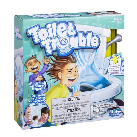 Hasbro Gaming Toilet Trouble GAME - image 1 of 4