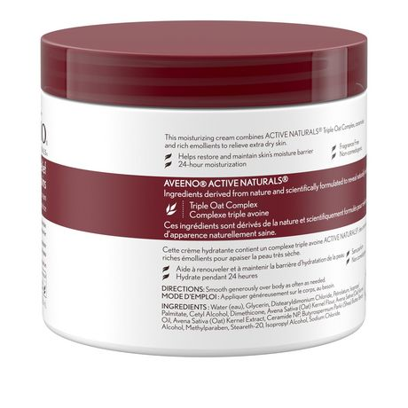 new concept 00f13 30b2e Aveeno Body Cream for Dry & Itchy Skin, 306 mL