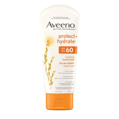 Aveeno Face and Body Sunscreen SPF 60, 81 mL - image 1 of 9