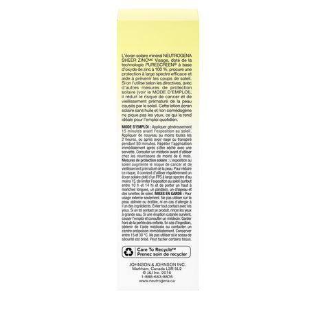 Neutrogena Sheer Zinc Face Sunscreen SPF 50 - image 9 of 9