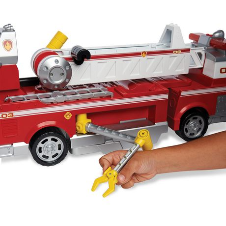 PAW Patrol - Ultimate Rescue Fire Truck with Extendable 2 Ft. Tall Ladder, for Ages 3 And up - image 9 of 9