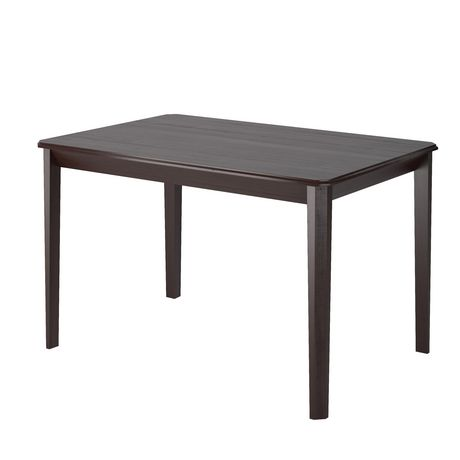 Corliving drg 695 t table teinte cappuccino 47po de large for Table exterieur walmart