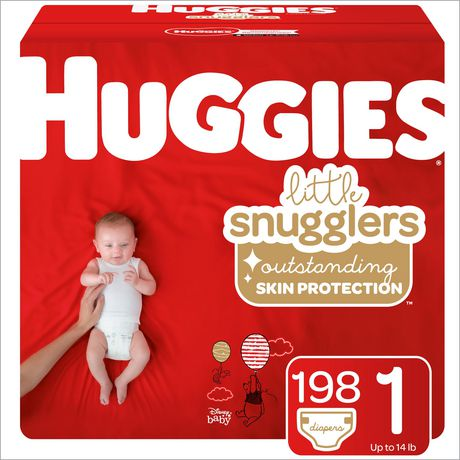HUGGIES Little Snugglers Diapers, Econo Pack - image 1 of 3