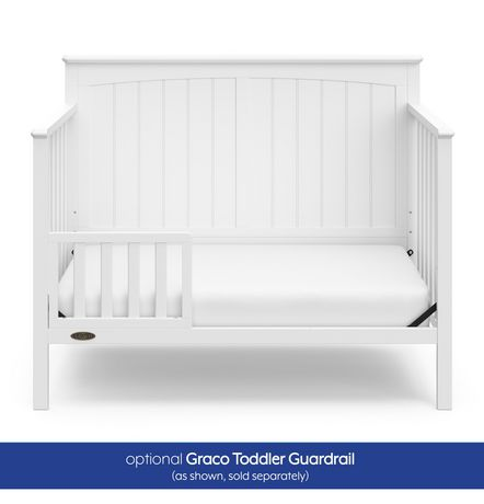 Ellis 4-in-1 Convertible Crib– Toddler bed, daybed, or full-size bed - image 8 of 9