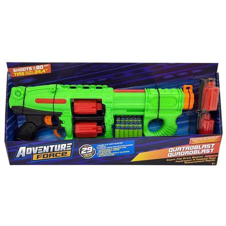 Adventure Force Quatroblast Superflip Drum Blaster - image 2 of 5