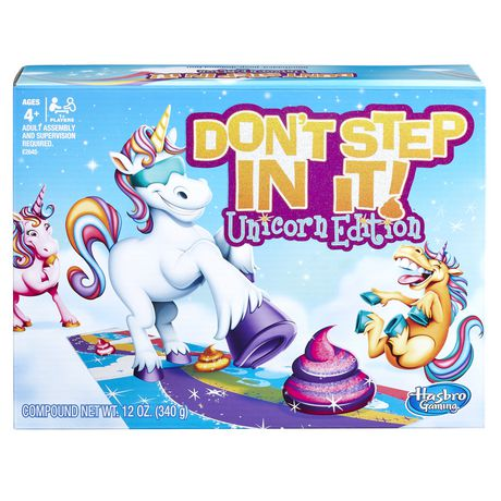 Hasbro Gaming Don't Step in It: Unicorn Edition - image 1 of 2