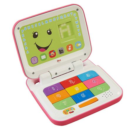 Fisher-Price Laugh & Learn Smart Stages Pink Laptop - image 1 of 8