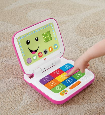 Fisher-Price Laugh & Learn Smart Stages Pink Laptop - image 6 of 8