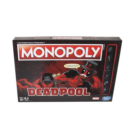 Hasbro Gaming Monopoly Game: Marvel Deadpool Edition by Hasbro Gaming