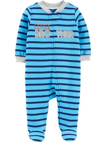 Child of Mine made by Carter's Newborn Boys' Sleep N Play Outfit - Brother - image 1 of 1