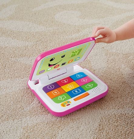 Fisher-Price Laugh & Learn Smart Stages Pink Laptop - image 5 of 8