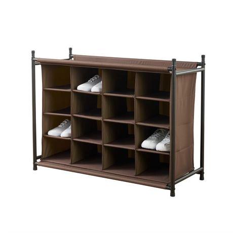 accessoire de rangement neatfreakmd 16 compartiments walmart canada. Black Bedroom Furniture Sets. Home Design Ideas