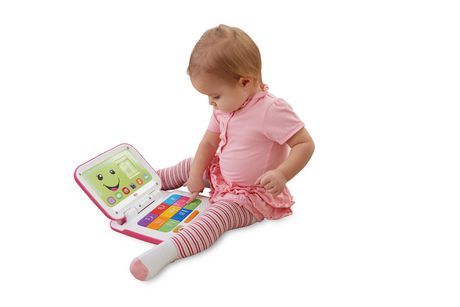 Fisher-Price Laugh & Learn Smart Stages Pink Laptop - image 2 of 8