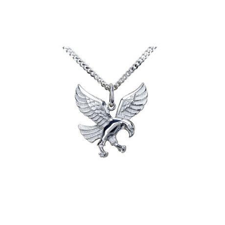 Mens stainless steel eagle pendant with chain walmart canada aloadofball Images
