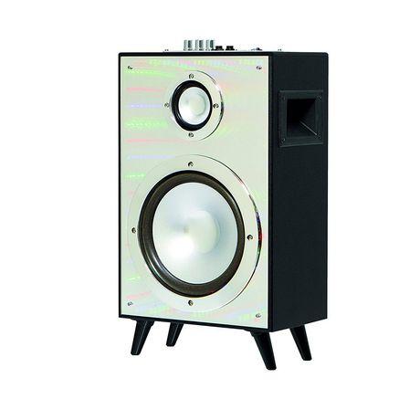Wireless Amplifier Speaker W Mirror And Led Light Finish By Sharper