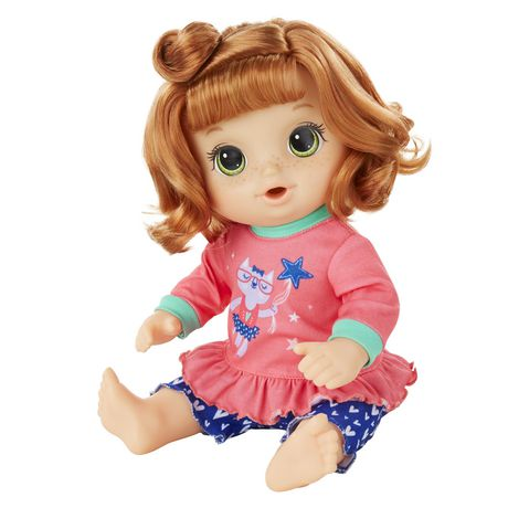Red Curly Hair Baby Alive Potty Dance Exclusive Value Pack
