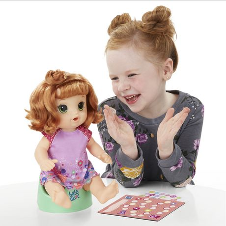 Baby Alive Potty Dance (Red Curly) | Top 25 Toy | Walmart ...