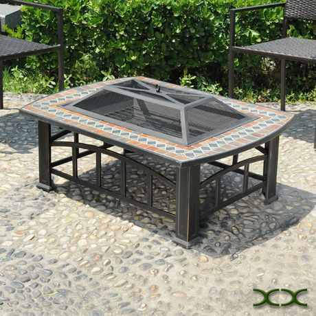 Rectangular Slate Top Fire Pit - image 4 of 4